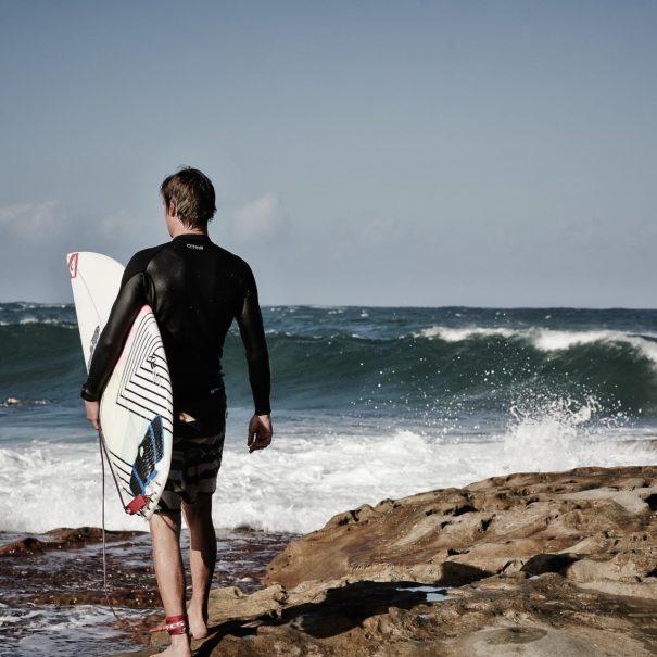 Playa surfista